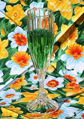 Vine Photograph - Romantic Emerald by LeeAnn McLaneGoetz McLaneGoetzStudioLLCcom