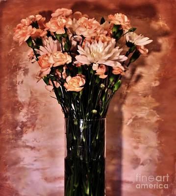 Wrap Digital Art - Romantic Evening by Marsha Heiken
