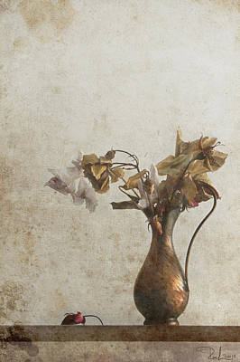 Photograph - Romantic Old Bouquet 2 by Raffaella Lunelli