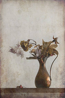 Photograph - Romantic Old Bouquet by Raffaella Lunelli