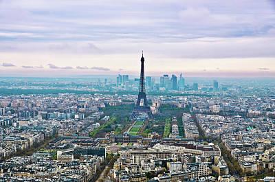 Romantic Paris Art Print by Photo by Volanthevist