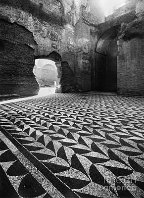 Rome: Baths Of Caracalla Art Print by Granger