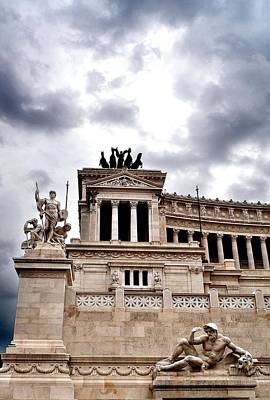 Rome Capitol Building Art Print by Heather Marshall