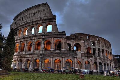 Rome Colosseum Art Print by Joana Kruse