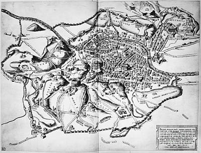 Rome Map Art Page Of Fine Art America - Rome map cartoon