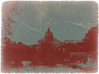 Rome Art Print by Naxart Studio