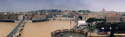 Rome Panorama Art Print by Shevi
