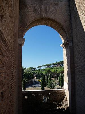 Photograph - Rome Through The Window by Sandy Collier