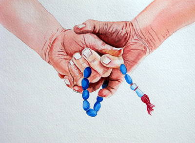 Ronaiki Art Print by Maria Barry