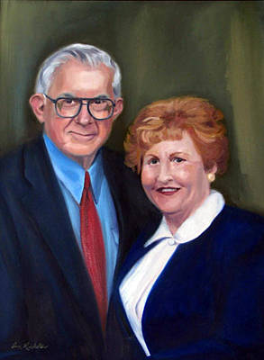 Painting - Ronald And Louise by Erin Rickelton