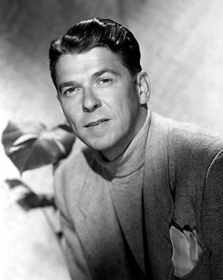 Ronald Reagan, 1950 Art Print by Everett