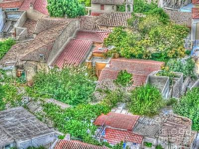 Photograph - Roofs Of Athens by David Bearden