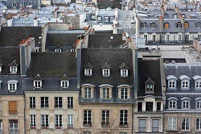 Paris Photograph - Roofs Of Paris by Landscape and urban landscape