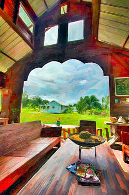 Painting - Room With A View by Nadia Sanowar