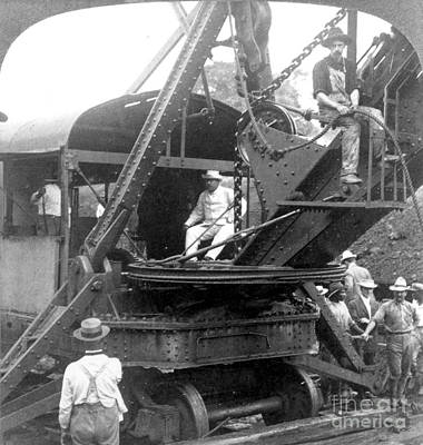 Culebra Photograph - Roosevelt At Panama Canal by Granger