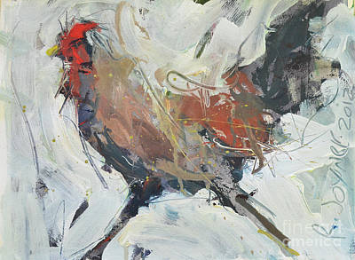 Rooster Art  Art Print by Robert Joyner