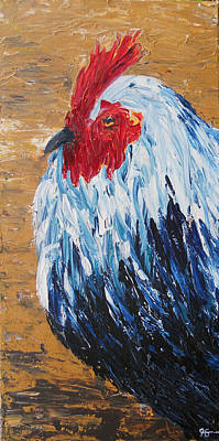 Painting - Rooster by Carol McLagan