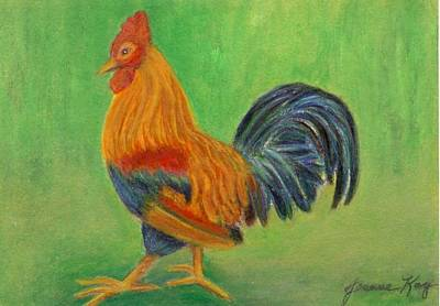 Painting - Rooster  by Jeanne Kay Juhos