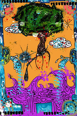 Rooted Envisionary Art Print by Eleigh Koonce