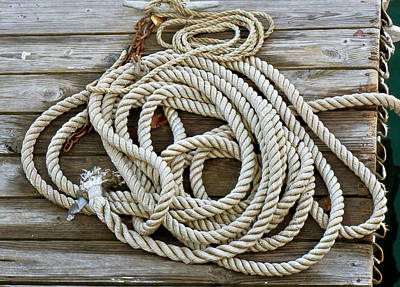 Photograph - Rope by Frank Winters