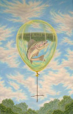 Rope Swing II Art Print by Arley Blankenship