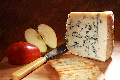 Roquefort And Apple  Art Print by Paul Cowan