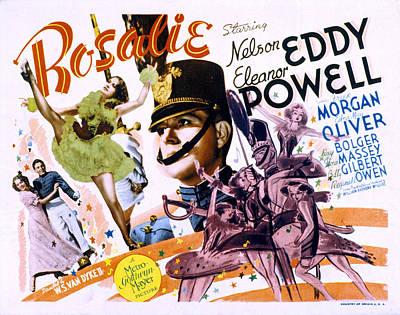 Rosalie, Eleanor Powell, Nelson Eddy Art Print