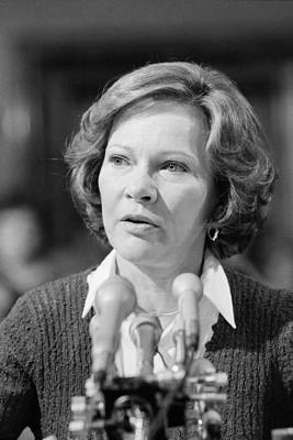Rosalynn Carter Testifies Before Senate Art Print