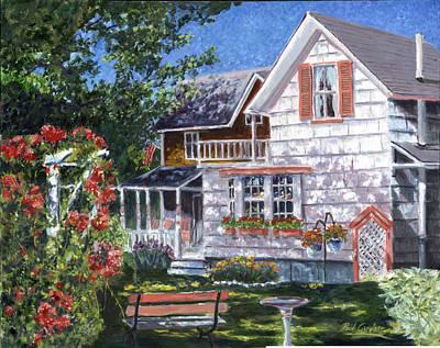Rosa's Garden Art Print by Paul Gardner