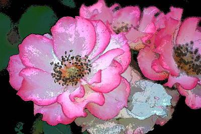 Rose 129 Print by Pamela Cooper