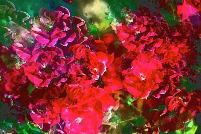Rose 143 Art Print by Pamela Cooper