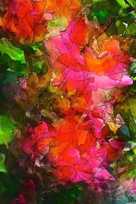 Rose 147 Art Print by Pamela Cooper