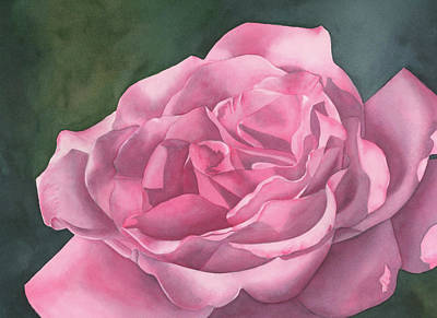 Rose Blush Art Print by Leona Jones