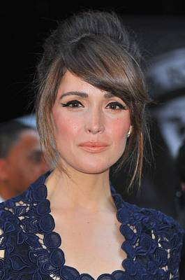 Bouffant Photograph - Rose Byrne At Arrivals For X-men First by Everett