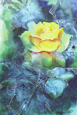 Painting - Rose by Eunice Olson