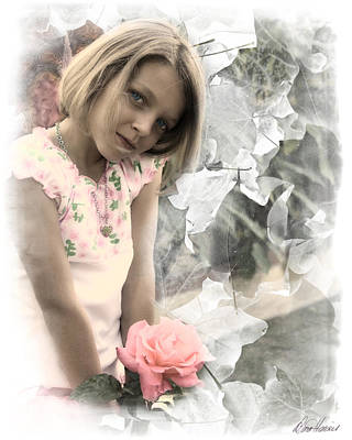 Photograph - Rose Faery by Diana Haronis