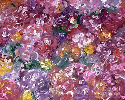 Art Print featuring the painting Rose Festival by Alys Caviness-Gober