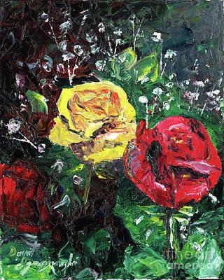 Rose From The Grey Art Print by David Ignaszewski