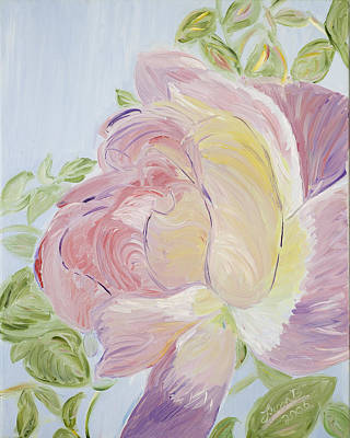 Rose Art Print by Leona Bushman