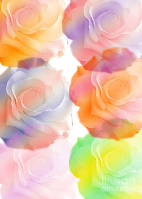 Digital Art - Rose Of A Different Color by Susan Stevenson