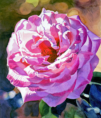 Painting - Rose Of The Temple by David Lloyd Glover