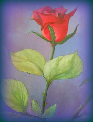 Painting - Rose by Susan  Solak