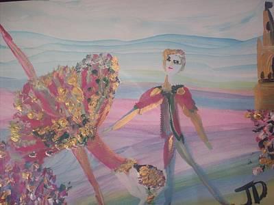 Rosebud Ballet Original by Judith Desrosiers