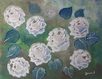 Roses Bouquet Art Print