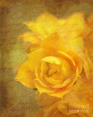 Roses For Remembrance Art Print by Judi Bagwell
