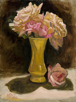Painting - Roses From A Friend by Billie Colson