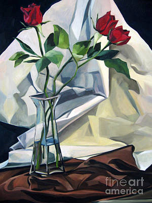 Painting - Roses by Lisa Dionne