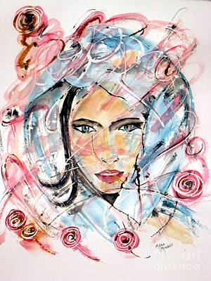 Painting - Roses Of Love by Mona Mansour Jandali