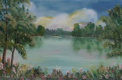 Kugler Painting - Ross Allen Lake by Scott Kugler