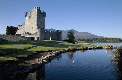 Photograph - Ross Castle On The Shore Of Lough Leane by George Munday